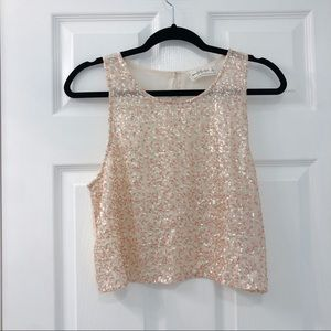 Abercrombie and Fitch Sequin Sparkle Tank